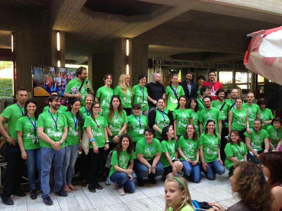 I volontari dell'edizione 2015